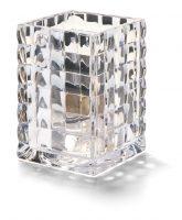 Vierkante Glashouder Transparant 6,5 X 9,5 Cm