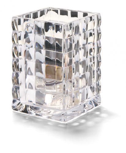 Vierkante glashouder transparant