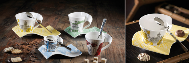 Villeroy & Boch NewWave Koffieconcept Cities Of The World
