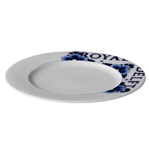 Royal delft bord met rand