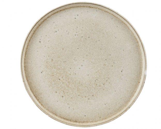 Rustico Oyster bord met opstaande rand