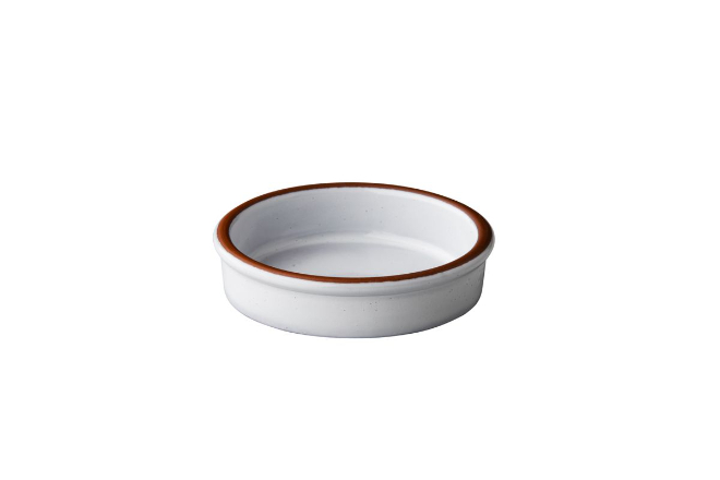 Casserole 10 cm wit