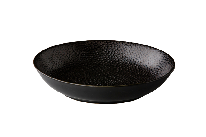 Coupe pastabord Honeycomb black