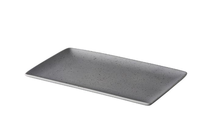 Tinto bord matt grijs