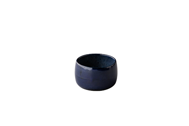 Q Authentic Stone Blue ramekin