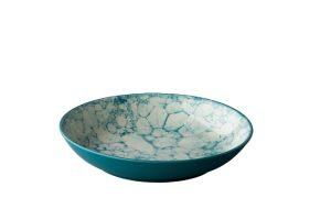 Diep Bord Bubble Turquoise 21 Cm
