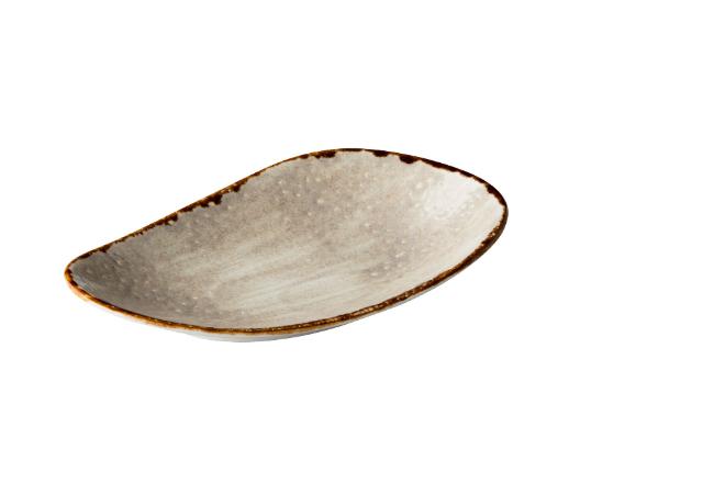 Jersey rechthoekig bord grijs