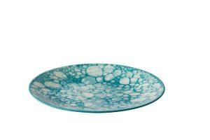 Bord Bubble Turquoise 27,5 Cm