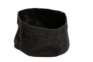 Broodmand Papier Wasbaar Zwart 18 X 18 X 15 Cm
