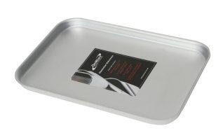 Aluminium Dienblad 31,5 X 21,5 X 2 Cm