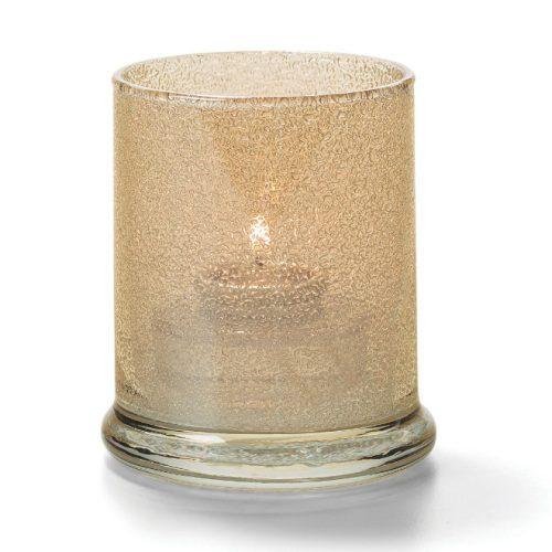 Cilinder glas breed onderstel champ.