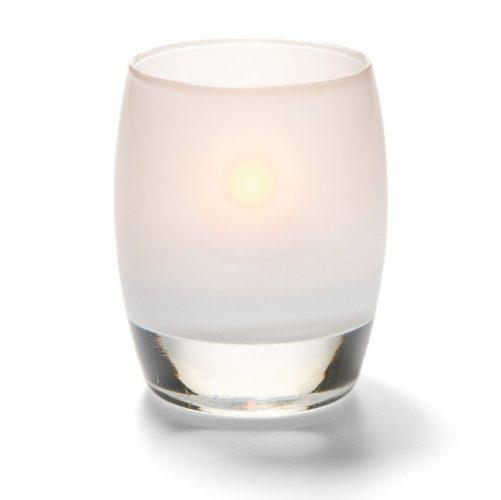 Bolvormige lamp glas mat wit