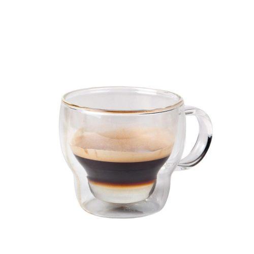 koffie-/theeglas dubbelwandig