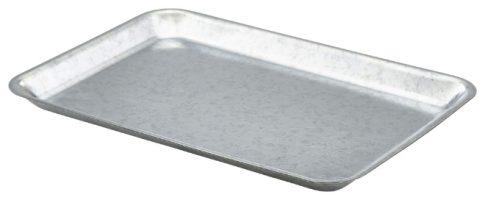 Gegalv. Stalen Dienblad Geh. Zilver 31,5 X 21,5 Cm