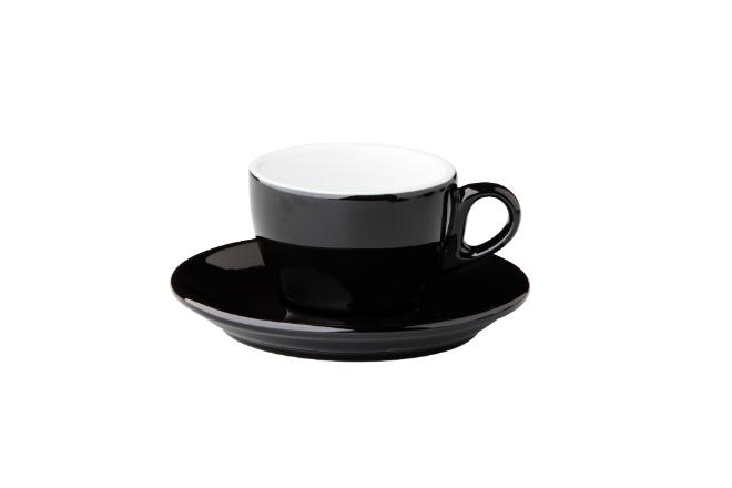 Barista koffie kop zwart