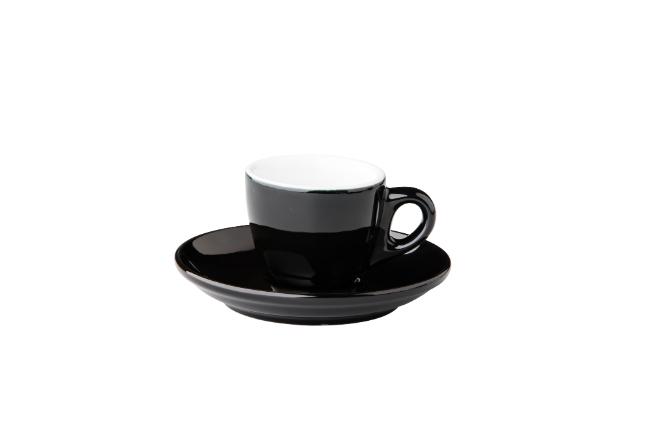 Barista espresso kop zwart