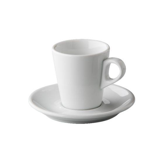 Barista koffie kop