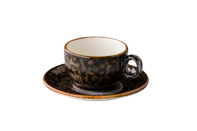 cappuccino kop stapelbaar