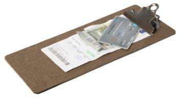 Menu-clipboard 26,5 X 11,4 Cm