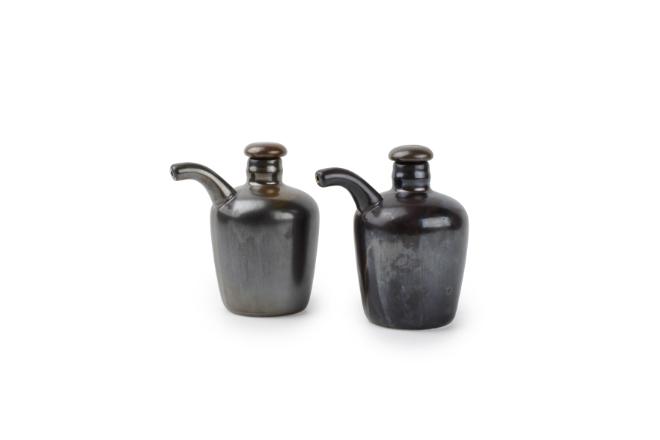 olie en azijn fles