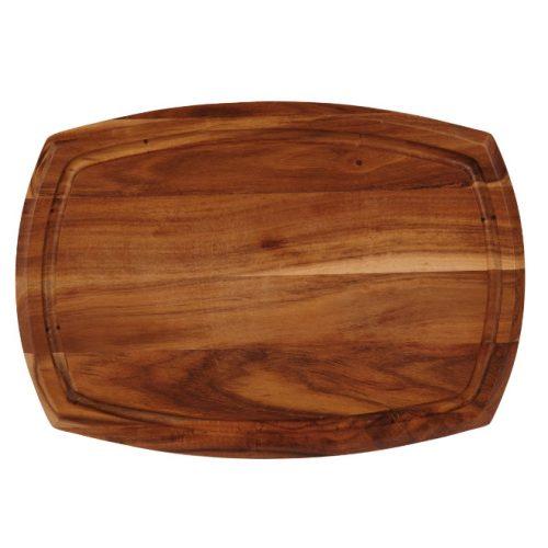 houten acacia bord