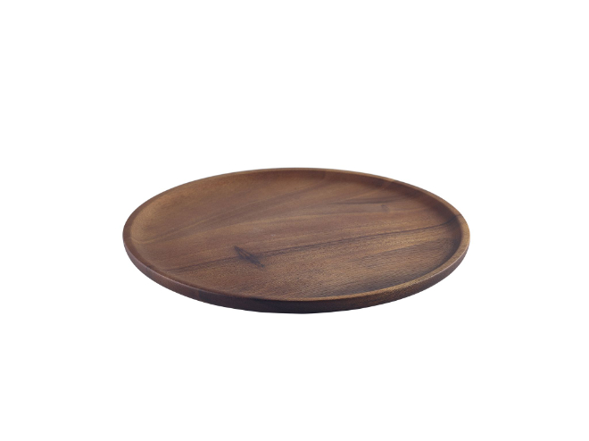 acacia plank rond