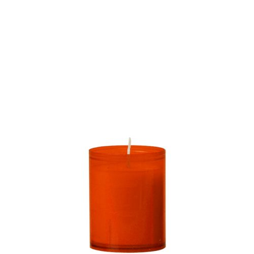 24-uurs refill kaars oranje