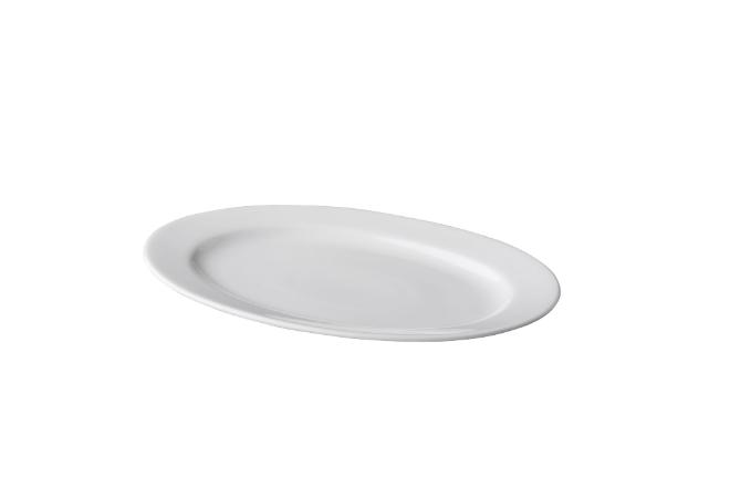 ovale schaal