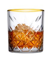 Timeless Whiskey Glas Gouden Rand 355 Ml