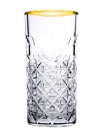 Timeless Longdrinkglas Gouden Rand 450 Ml