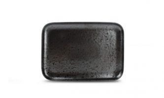 Plat Bord 28x20cm Zwart Oxido