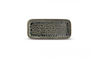 Serveerschaal 22x10cm Smaragd Oxido