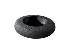 Donut Kom Vulcano Zwart 17 Cm