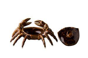 Crab Met Deksel 26 X 17 Cm